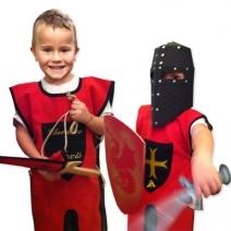 Tunique de chevalier personnalisé