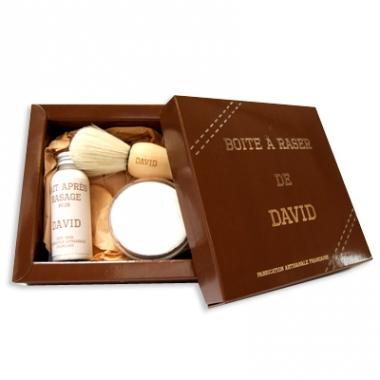 kit de rasage original et personnalis un cadeau parfait pour un papa. Black Bedroom Furniture Sets. Home Design Ideas