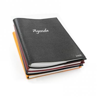 Agenda Personnalisé en cuir