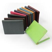 Porte cartes cuir personnalisé - 12 cartes