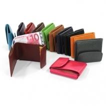Porte monnaie et billets cuir personnalisé