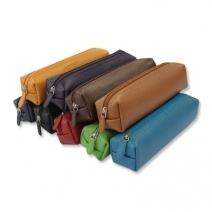 Trousse carrée cuir personnalisée
