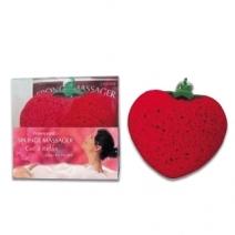 Eponge fraise vibrante