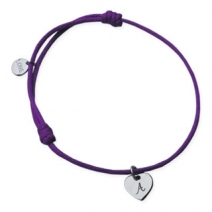 Bracelet Love and Heart gravé