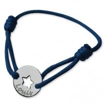 Bracelet petit jeton étoile