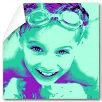 Photo pop art une photo