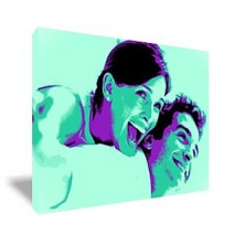 Tableau Pop Art rectangulaire