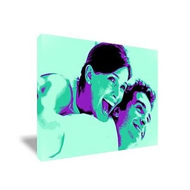 Tableau Pop Art rectangulaire
