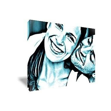 Cadeau design pop art un tableau monochrome rectangulaire for Decoration epuree definition