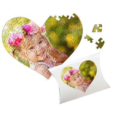 Puzzle photo coeur