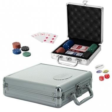Valise de poker gravée