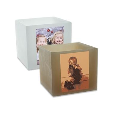 Photophore Personnalisé carré