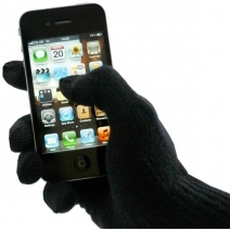 Gants pour smartphone