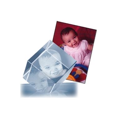Cube photo 3D