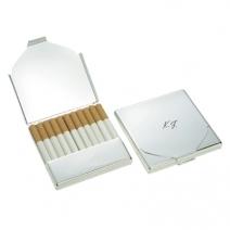 Etui à cigarette gravé