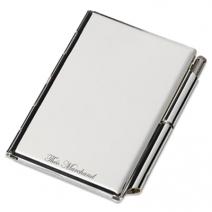 Porte bloc-notes de poche gravé