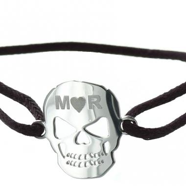 Bracelet Tête de mort personnalisé