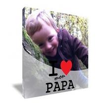 Toile Papa personnalisée