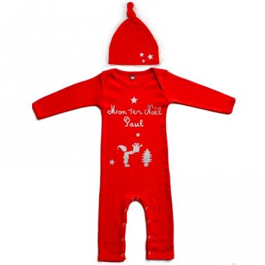 Pyjama de noël prénom