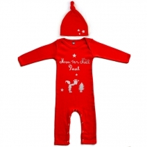 Pyjama de Noël et son bonnet assorti