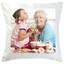 coussin photo blanc