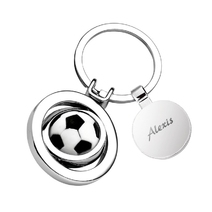 porte-clés foot médaille gravée