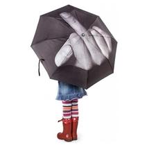 Parapluie doigt d'honneur
