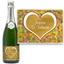 Bouteille de champagne personnalisée Amour