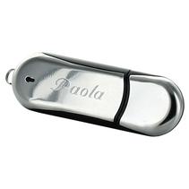 Clé USB grise personnalisée