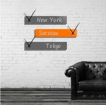 Horloge murale design NEW YORK