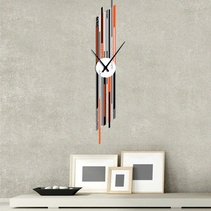 Horloge murale design Projection