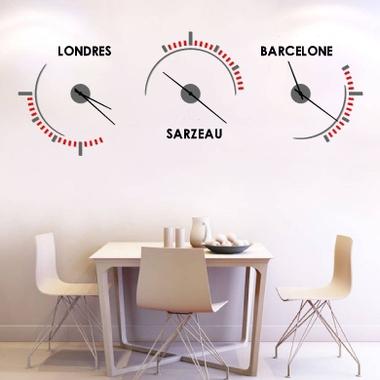 Horloge murale design Genève