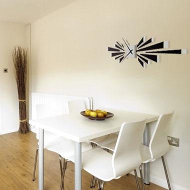 horloge murale design espace. Black Bedroom Furniture Sets. Home Design Ideas