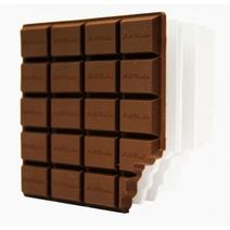 Carnet tablette de chocolat