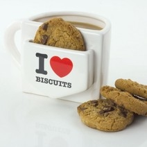 Mug I love biscuits