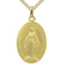 Médaille Vierge miraculeuse en or