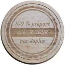Planche à fromage gravée