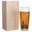 Pinte de bière Anniversaire gravée