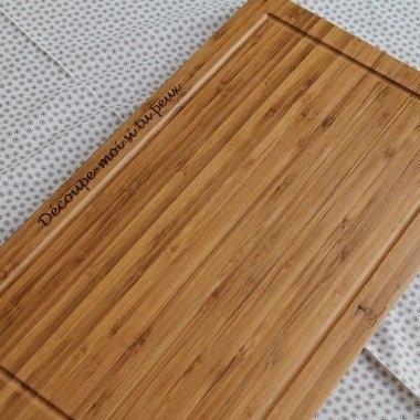 une planche d couper vos aliments sign e paul bocuse. Black Bedroom Furniture Sets. Home Design Ideas