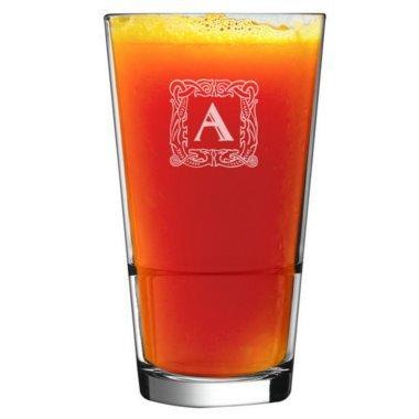 Verre à cocktails initiales personnalisés