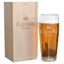 Pinte de bière prénom gravée