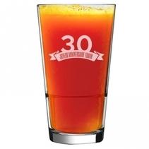 Verre cocktail anniversaire