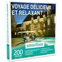 Smartbox Voyage délicieux et relaxant