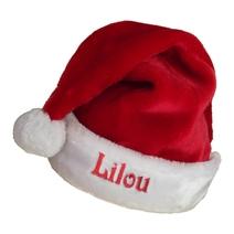 Bonnet de Noël extra doux brodé