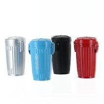 Cendrier de poche poubelle gravé