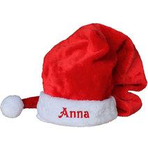 Grand bonnet de Noël avec prénom
