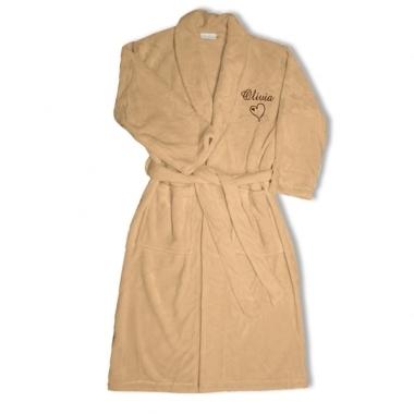 Robe de chambre polaire personnalisée