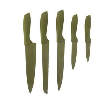 un superbe kit de couteaux et un bloc de rangement huile d. Black Bedroom Furniture Sets. Home Design Ideas