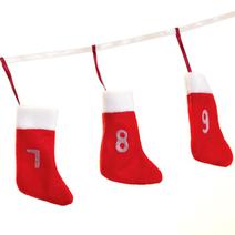 Calendrier de l'Avent chaussettes de Noël