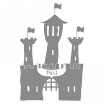 Sticker personnalisé château-fort